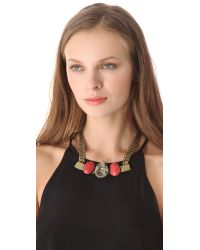 Citrine by the Stones - Metallic Toltec Necklace - Lyst
