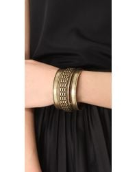 Citrine by the Stones - Brown Tula Bangle Set - Lyst