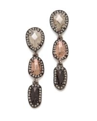 House of Harlow 1960 | Metallic Rif Pebble Drop Earrings | Lyst