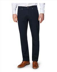 Jaeger Black 5 Pocket Twill Trouser for men