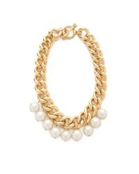 Juicy Couture | Metallic Chunky Chain Necklace | Lyst