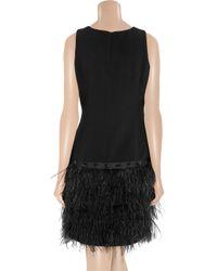 MICHAEL Michael Kors   Black Belted Shirt Dress   Lyst