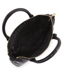 MICHAEL Michael Kors - Black Studded Shoulder Bag - Lyst