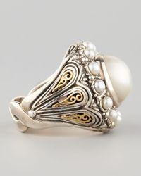 Konstantino - White Kassandra Mabe Pearl Ring - Lyst