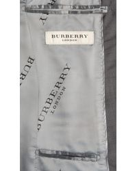 Burberry - Gray Slim Fit Wool Mohair Suit for Men - Lyst