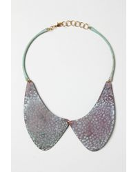 Sibilia | Purple Caminito Collar Necklace | Lyst