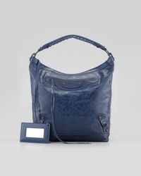 Balenciaga | Blue Classic Day Bag | Lyst