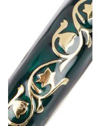 Isharya - Metallic Florentine 18 Karat Gold Plated Bracelet - Lyst