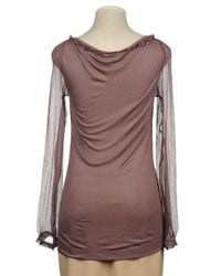 Miss Sixty - Purple Blouse - Lyst