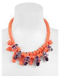 EK Thongprasert | Orange Stone Embellished Necklace | Lyst