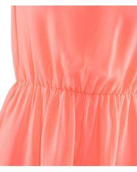 H&M   Orange Dress   Lyst