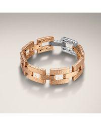 John Hardy | Metallic Geometric Link Bracelet | Lyst
