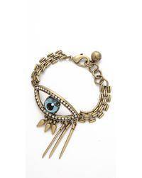 Lulu Frost - Metallic Icon Bracelet - Lyst