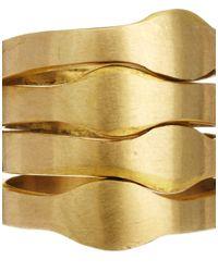 Tatty Devine - Metallic Made Ndonondono Inya Ring - Lyst