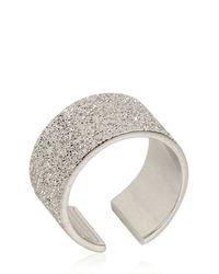 Maria Francesca Pepe - Metallic Midi Pinky Ring - Lyst