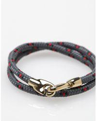 Miansai - Gray Brummel Rope for Men - Lyst