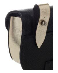 Newbark - Black Eva Leather Coin Pouch - Lyst