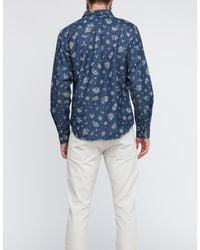 Obey | Blue Dharma Shirt for Men | Lyst