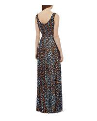 Reiss   Multicolor Effie Printed Maxi Dress   Lyst