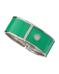 R.j. Graziano | Green Enamel Bangle | Lyst