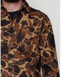 Rogue Territory - Natural Drake Camo Work Shirt for Men - Lyst