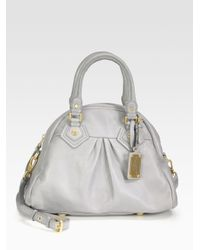 Marc By Marc Jacobs - Metallic Classic Baby Aidan Satchel - Lyst