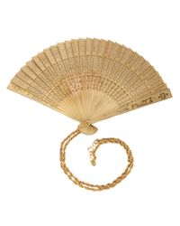 Moschino | Natural Fan Pendant Necklace | Lyst