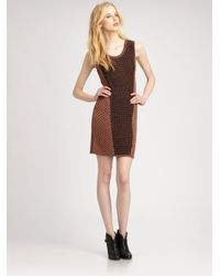 Rag & Bone | Brown Amanda Dress | Lyst