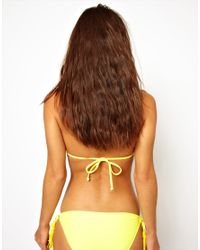 Seafolly | Yellow Exclusive To Asos Jazz Tie Side Bikini Pant | Lyst