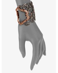 Stephen Webster - Metallic Shark Jaw Sterling Silver Cuff Bracelet - Lyst