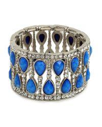 BaubleBar | Blue Azure Glitz Cuff | Lyst