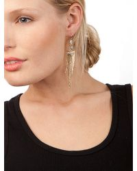 BaubleBar - Metallic Gold Cleo Fringe Earrings - Lyst