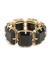 BaubleBar - Black Onyx Garbo Bracelet - Lyst