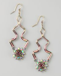 Eddie Borgo - Metallic Pink Eve Earrings - Lyst