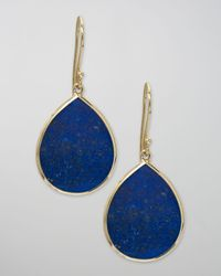 Ippolita | Blue Lapis Teardrop Earrings, Large | Lyst