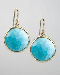 Ippolita | Blue Turquoise Lollipop Earrings | Lyst