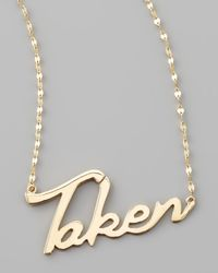 Lana Jewelry | Metallic Taken Necklace | Lyst