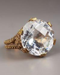 Stephen Dweck | Metallic Crystal Quartz Ring | Lyst