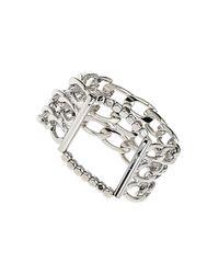 TOPSHOP - Metallic Boyfriend Link Bracelet - Lyst