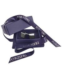 FORZIERI - Metallic Ath Collection Square Cufflinks for Men - Lyst