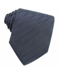FORZIERI | Dark Blue Classic Extra-long Woven Silk Tie for Men | Lyst