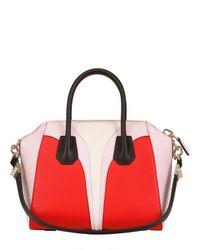 Givenchy | Red Small Antigona Architect Leather Bag | Lyst