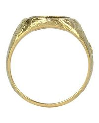 Torrini - Oval 18k Yellow Gold Men's Ring for Men - Lyst