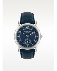 Raymond Weil - Blue Lizard Stamped Stainless Steel Dress Watch - Lyst