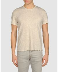 IRO - Gray Short Sleeve Tshirt for Men - Lyst