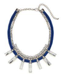 BaubleBar | Blue Cobalt Cyndi Collar | Lyst
