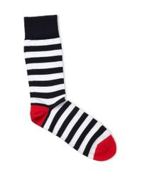 Corgi | Blue Striped Cottonblend Socks for Men | Lyst