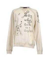 DSquared² - White Sweatshirts for Men - Lyst