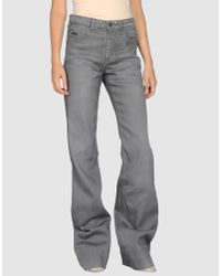 Gianfranco Ferré - Blue Denim Pants - Lyst