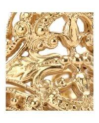 Iam By Ileana Makri | Metallic Chantilly Yellow Goldplated Ring | Lyst